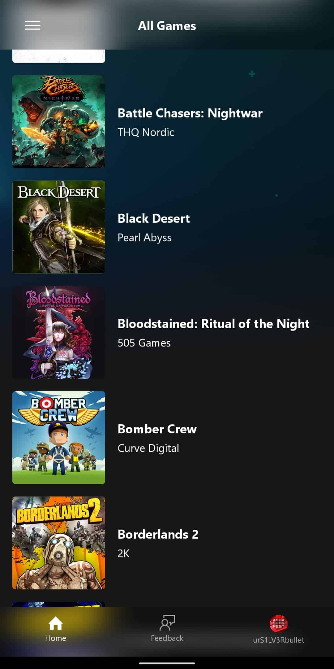 xCloud Games List 3