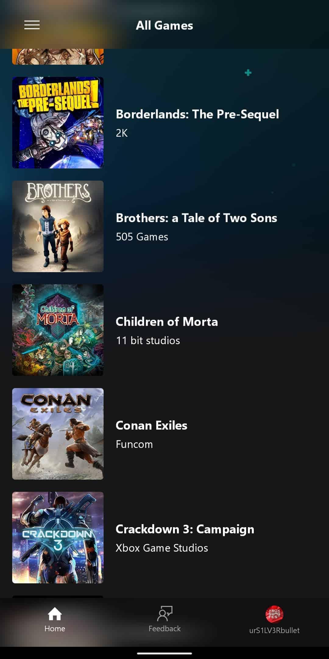xCloud Games List 4
