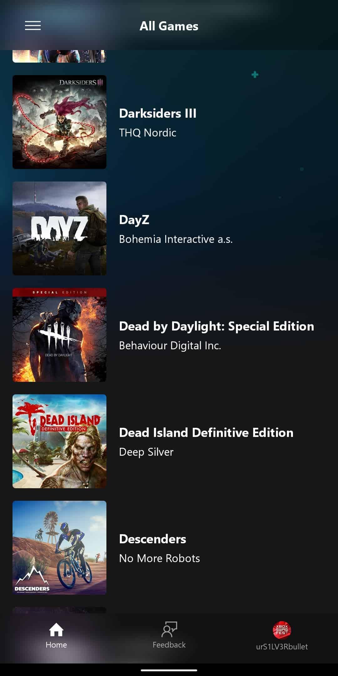 xCloud Games List 5