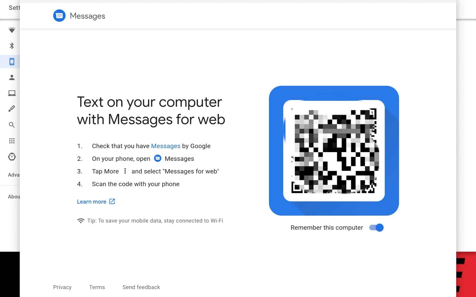 12 How to connect smartphone chromebook AH 2020