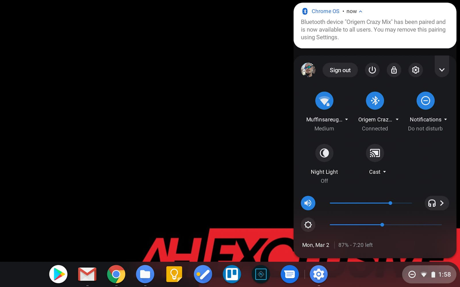 Chromebook how to Bluetooth 02