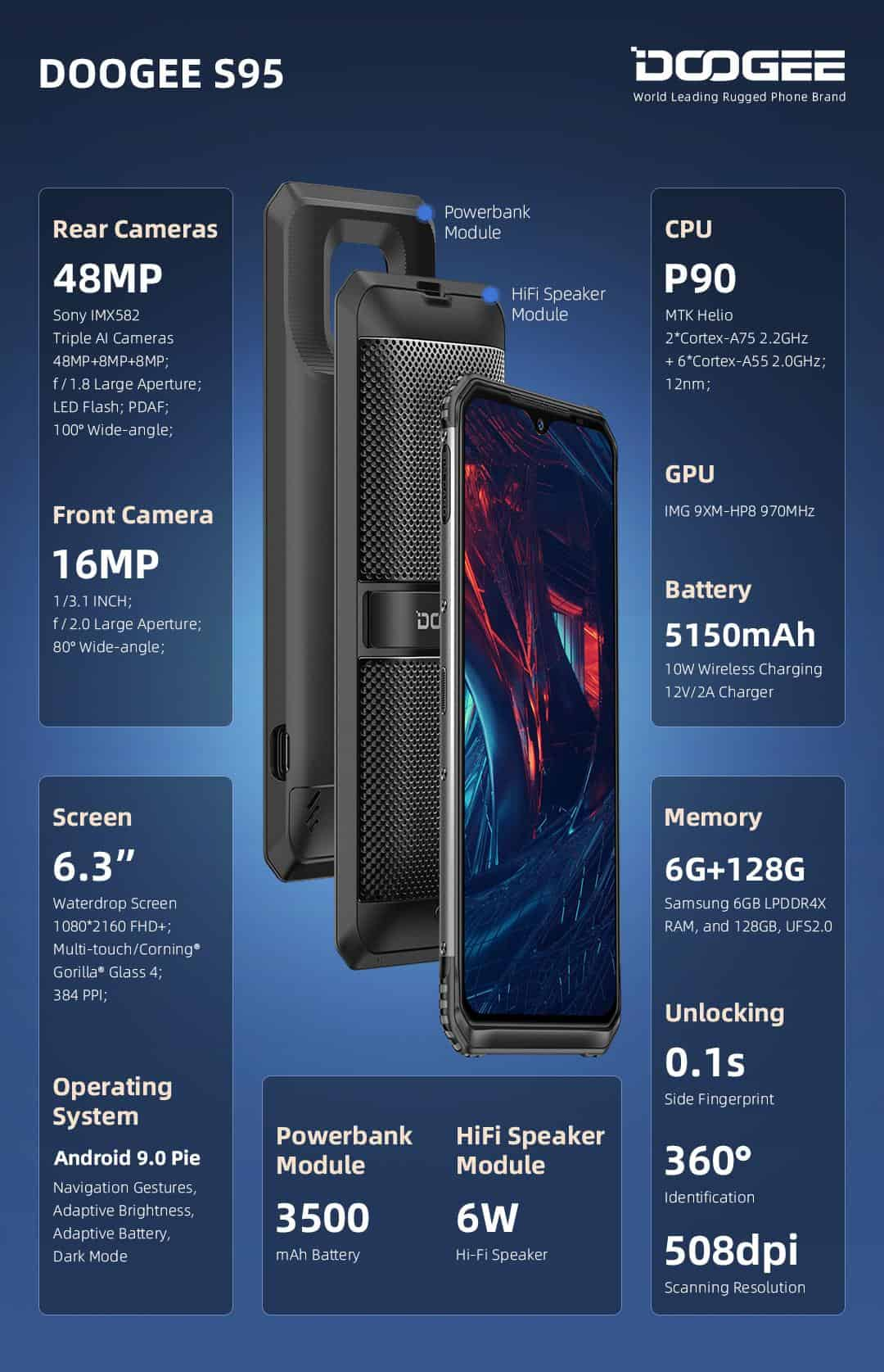 DOOGEE S95 available 10