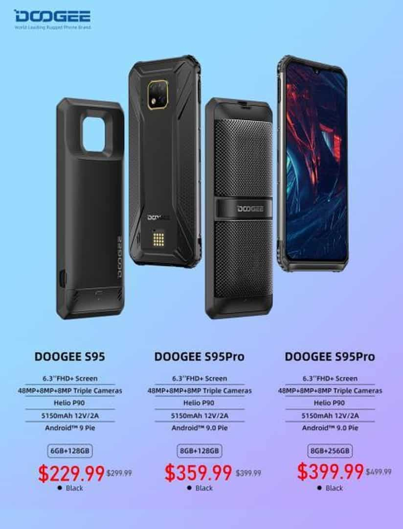 DOOGEE S95 available 8