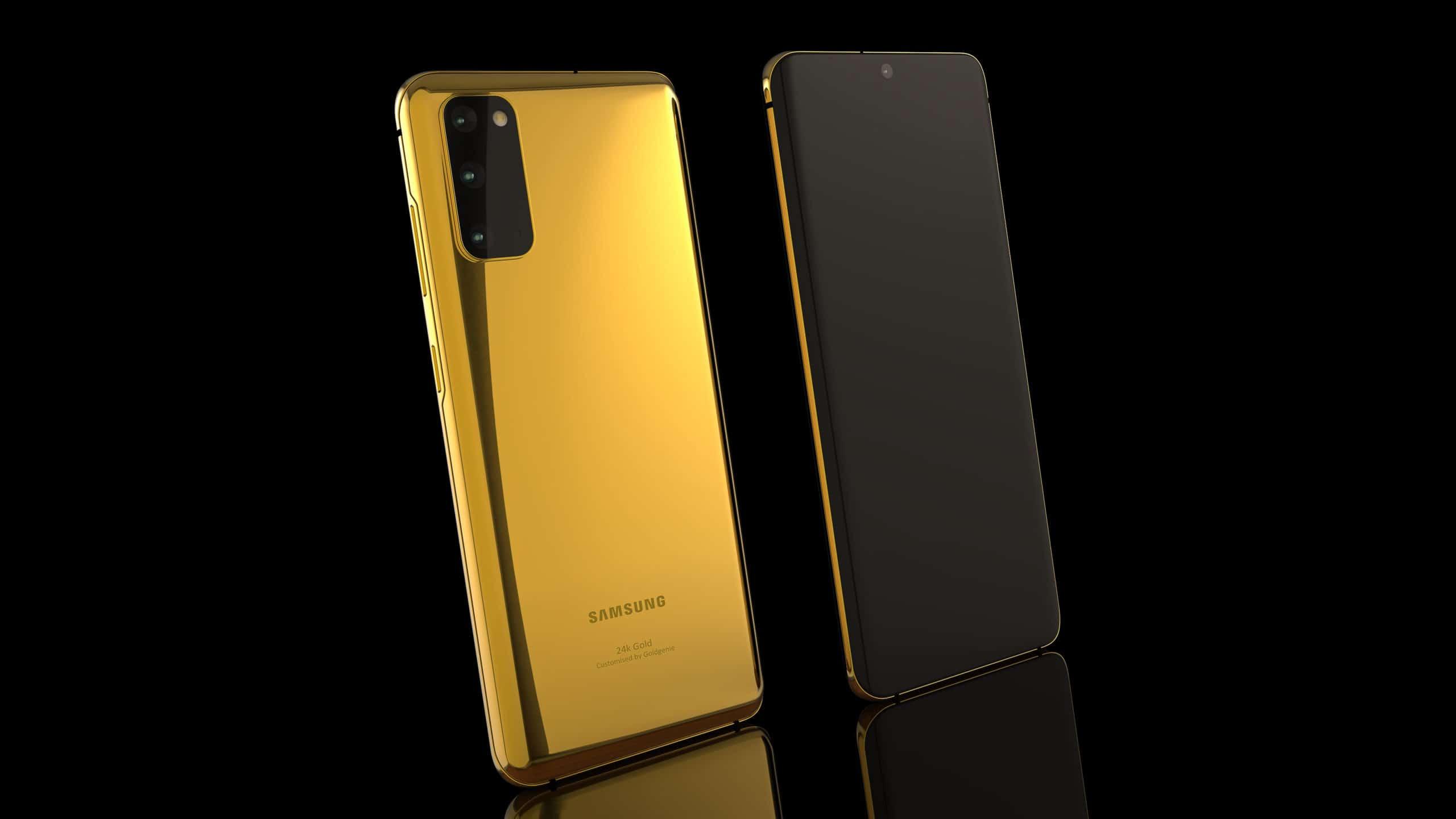 Galaxy S20 24K gold 1