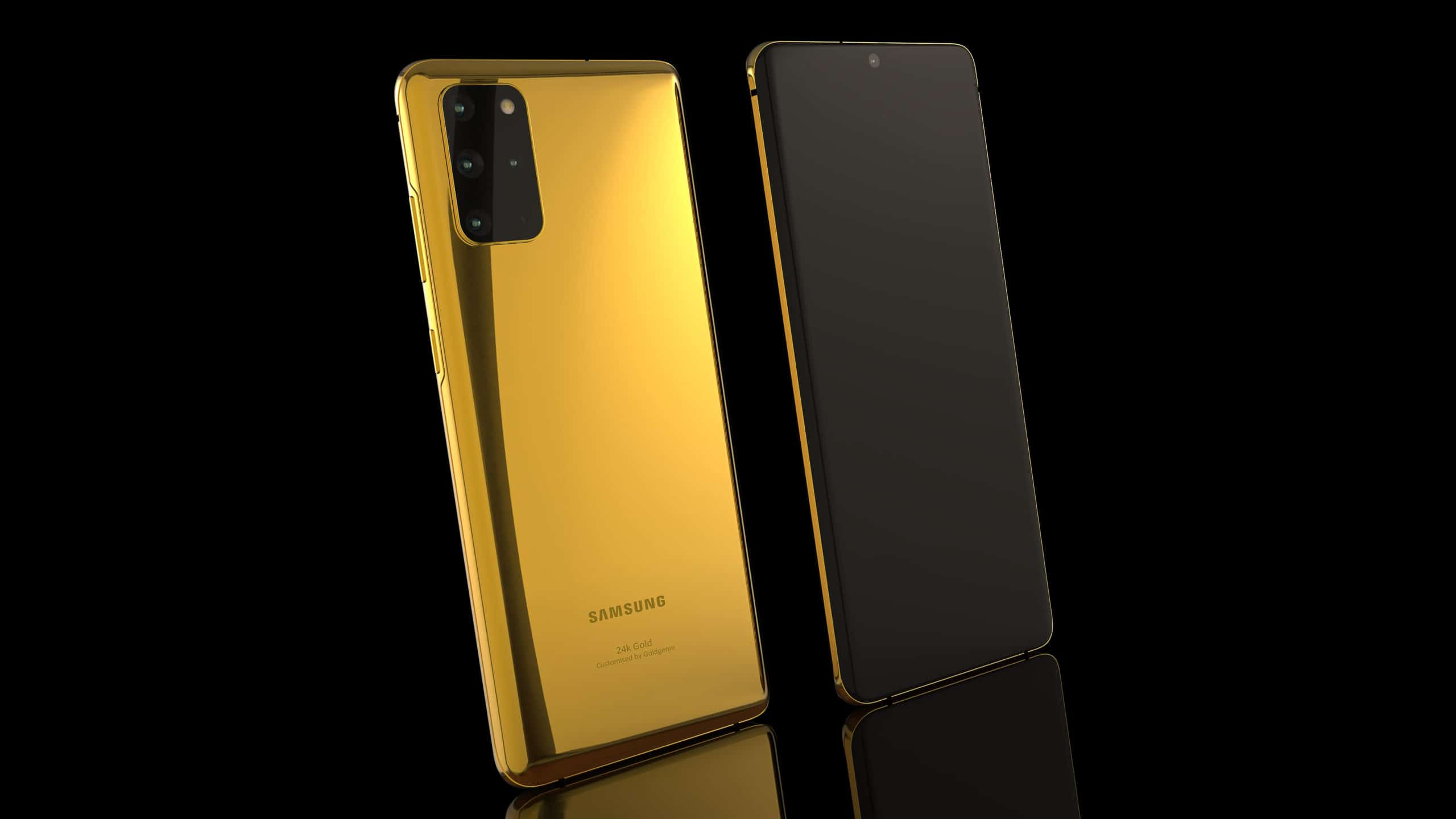 Galaxy S20 Plus 24K gold 1