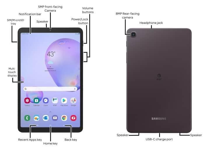 Galaxy tab a 8 4 2020