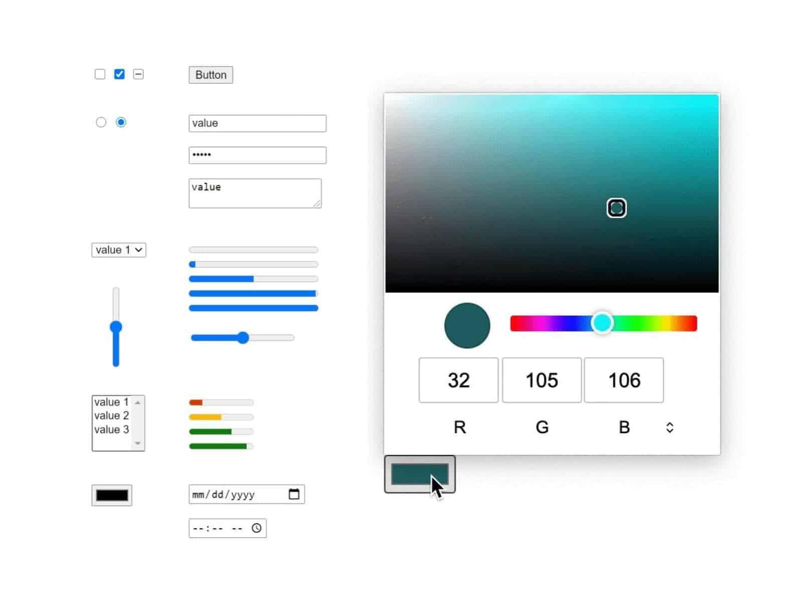 Google HTML Form Redesign presser 01