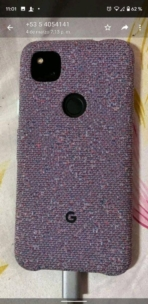 Google Pixel 4a real-life image leak with Fabric case 3