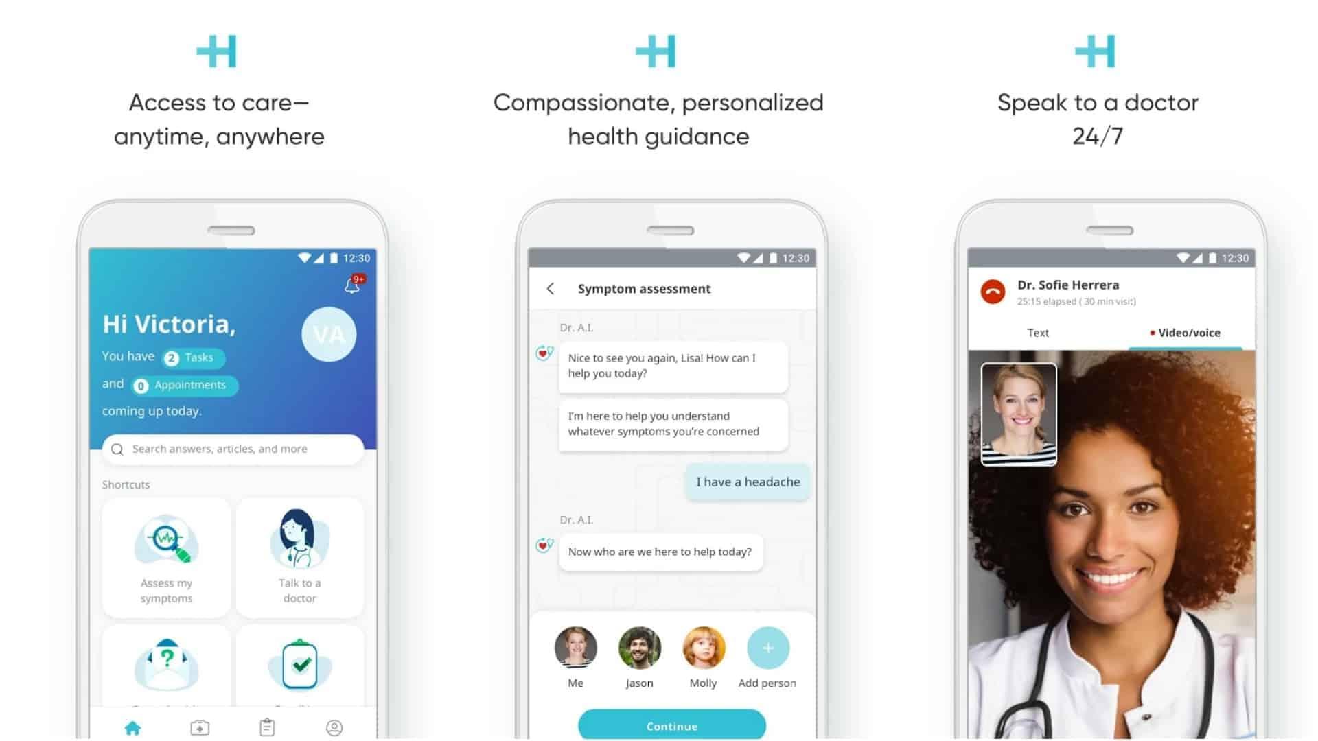 HealthTap app image March 2020