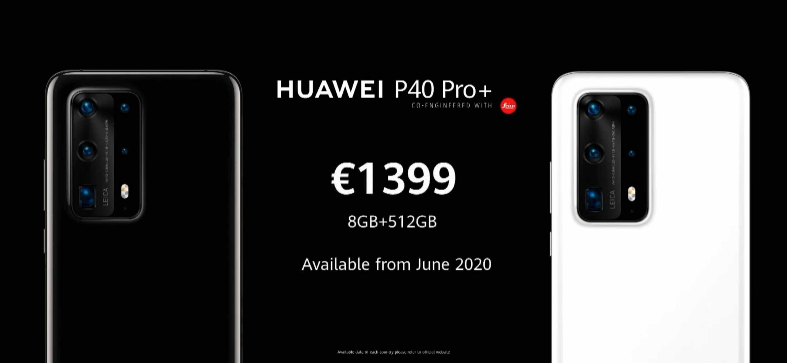 Huawei P40 Pro Plus pricing