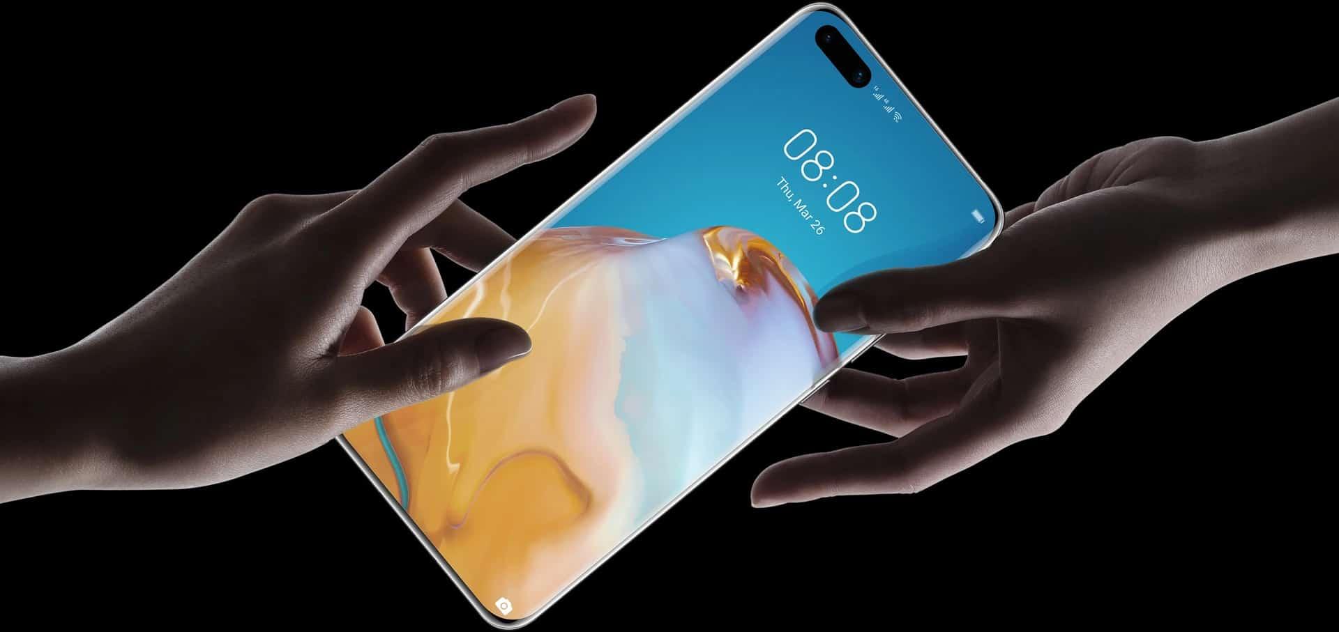 Huawei P40 Pro Plus render 3