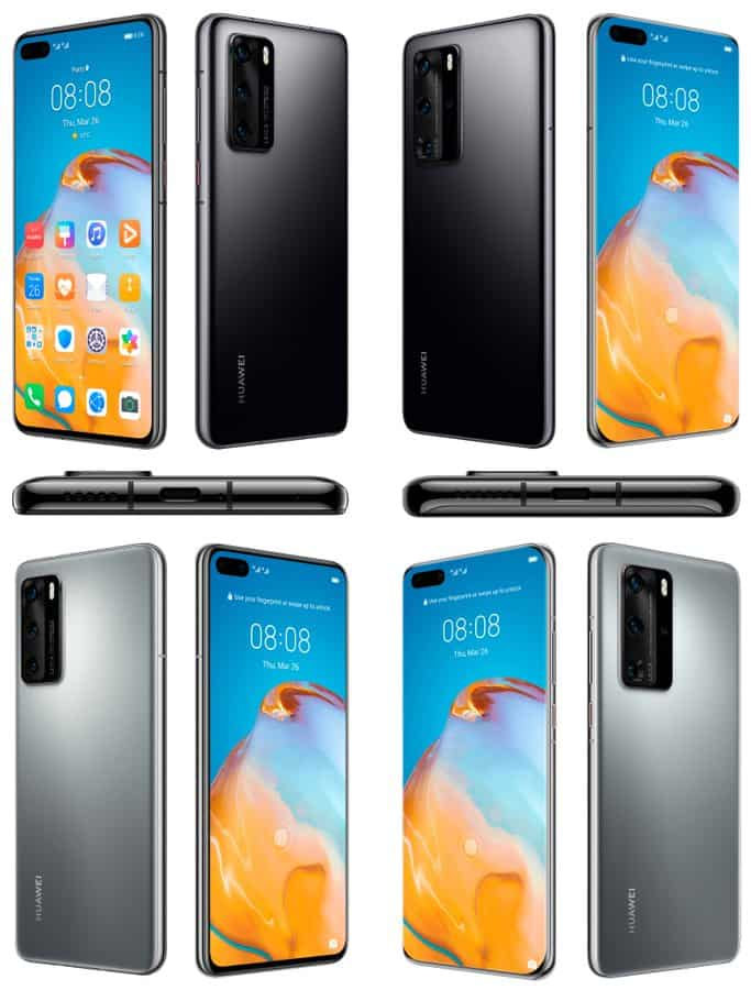 Huawei P40 and P40 Pro render leak 111