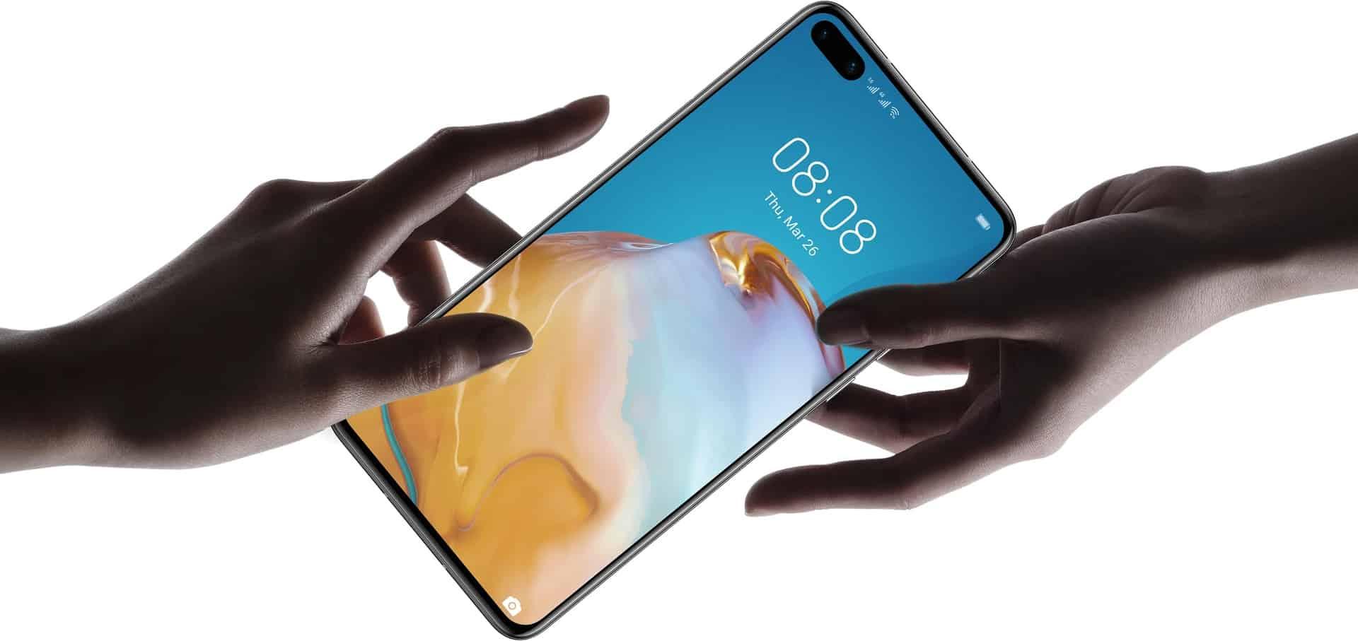 Huawei P40 render 2
