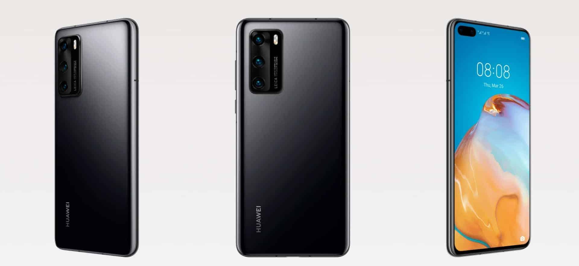 Huawei P40 render 4