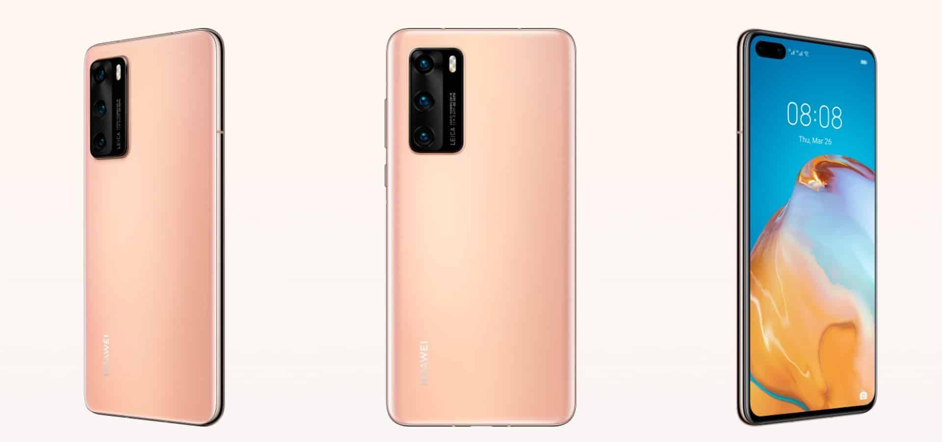 Huawei P40 render 5