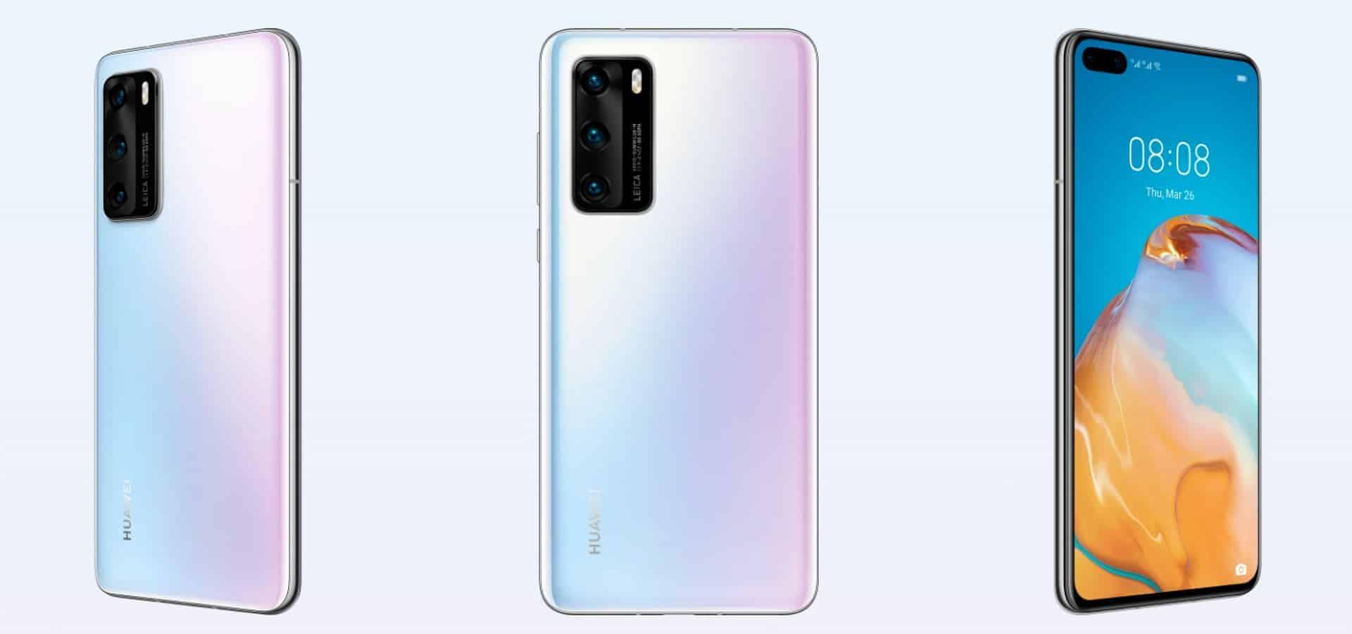 Huawei P40 render 7