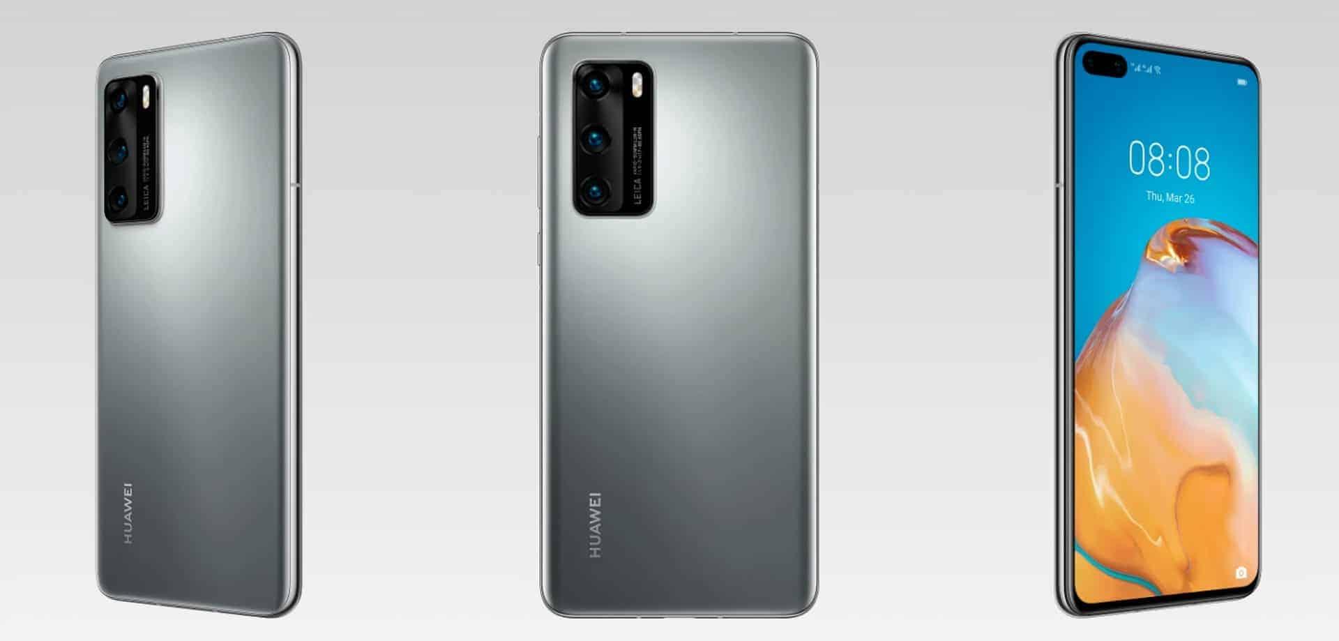Huawei P40 render 9