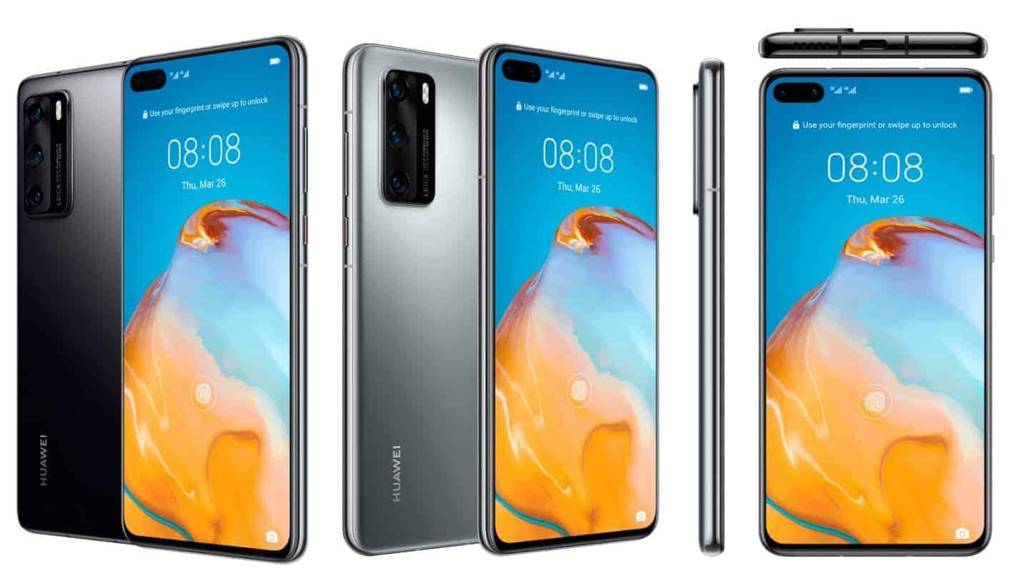 Huawei P40 render leak 111