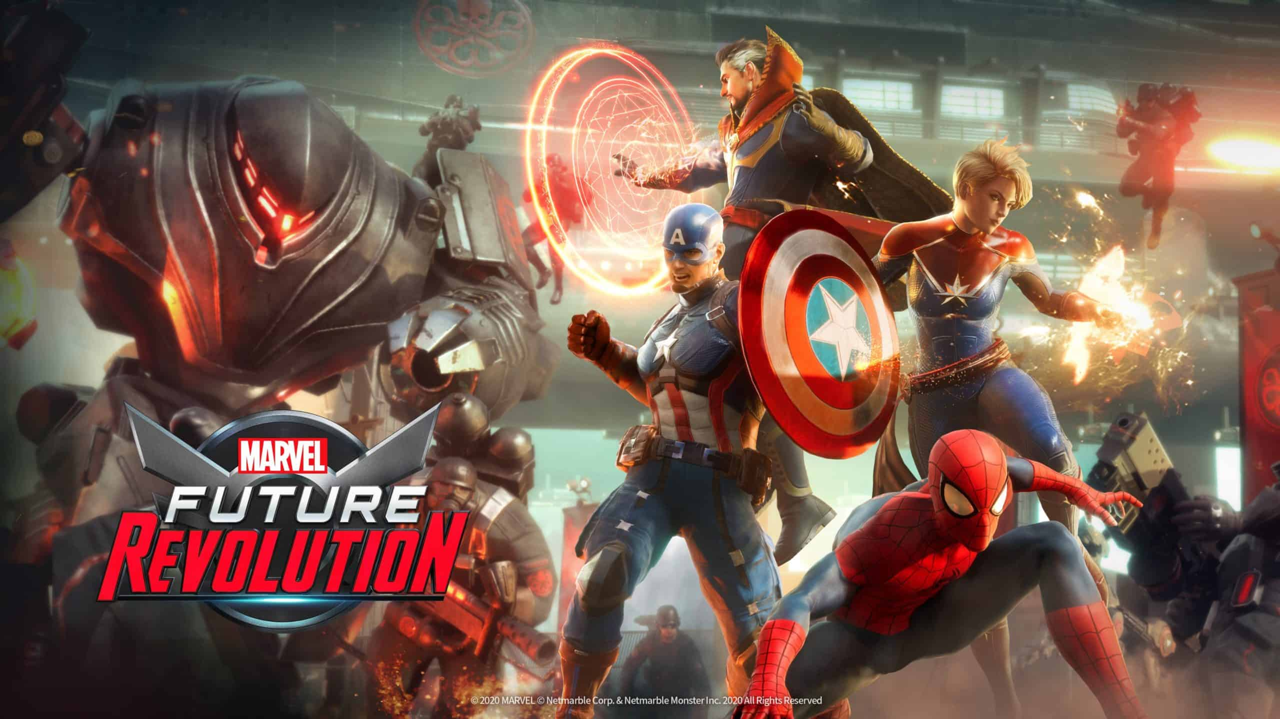 The Marvel Future Revolution Gameplay Is Being Revealed Tomorrow