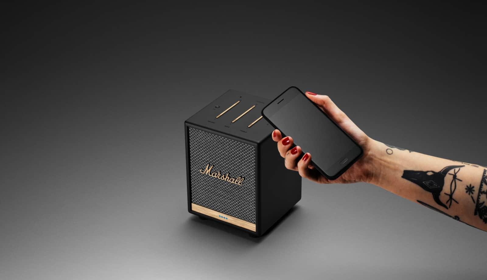 Marshall UxBridge Smart Speaker 8