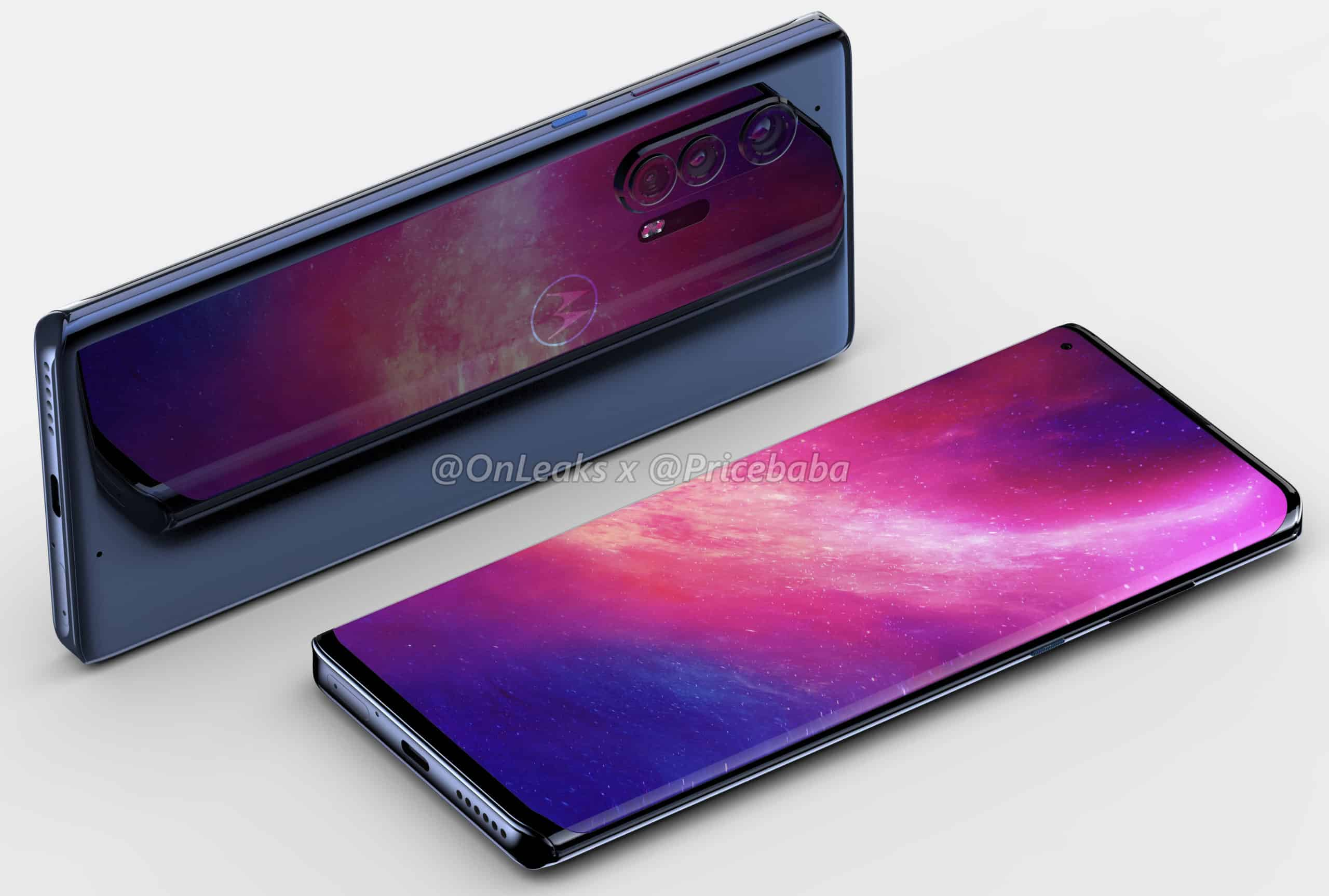 Motorola Edge Plus render leak 2