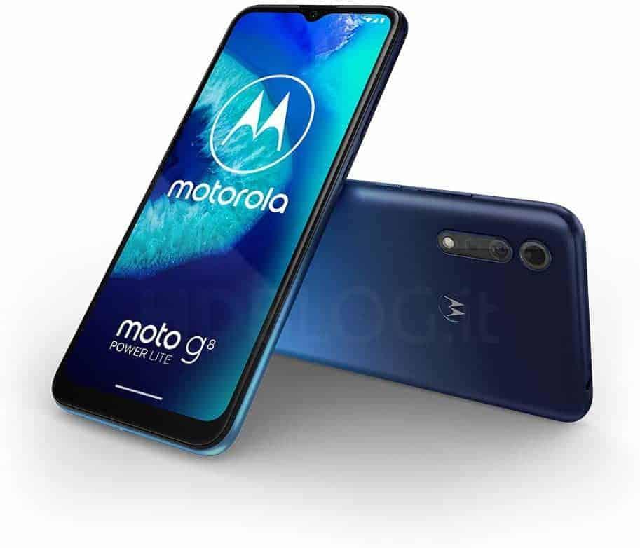 Motorola Moto G8 Power Lite render leak 1