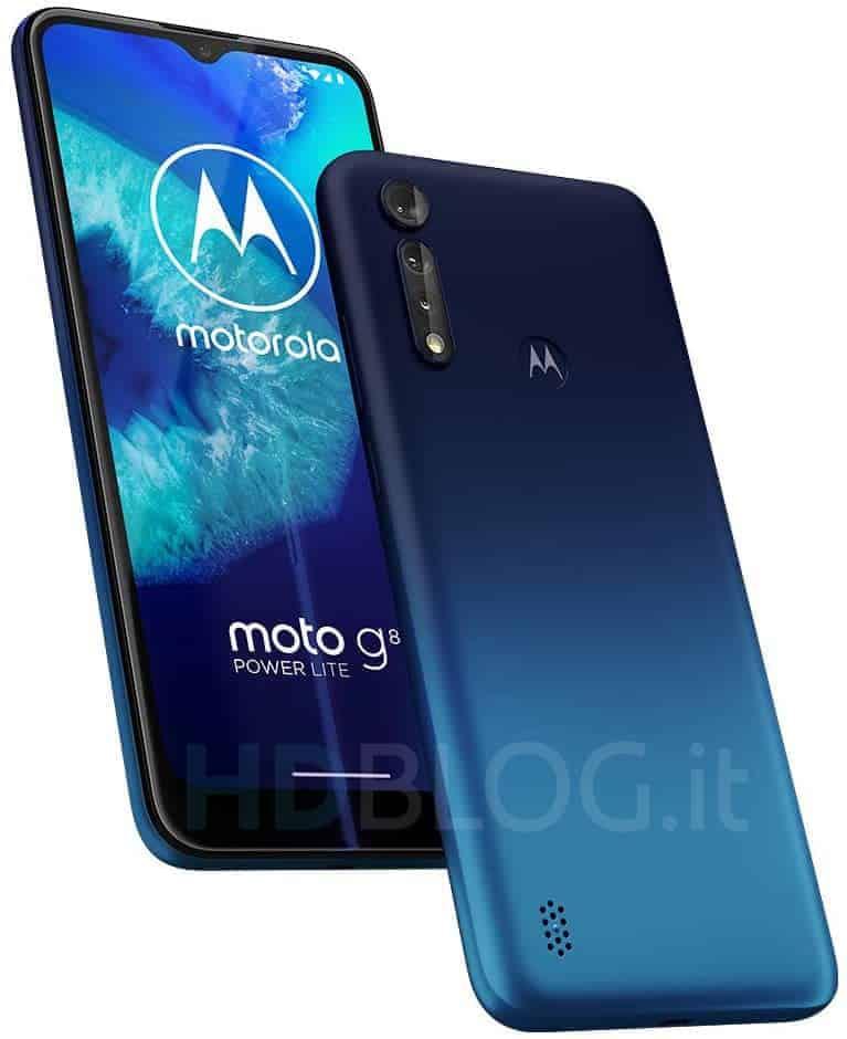 Motorola Moto G8 Power Lite render leak 4
