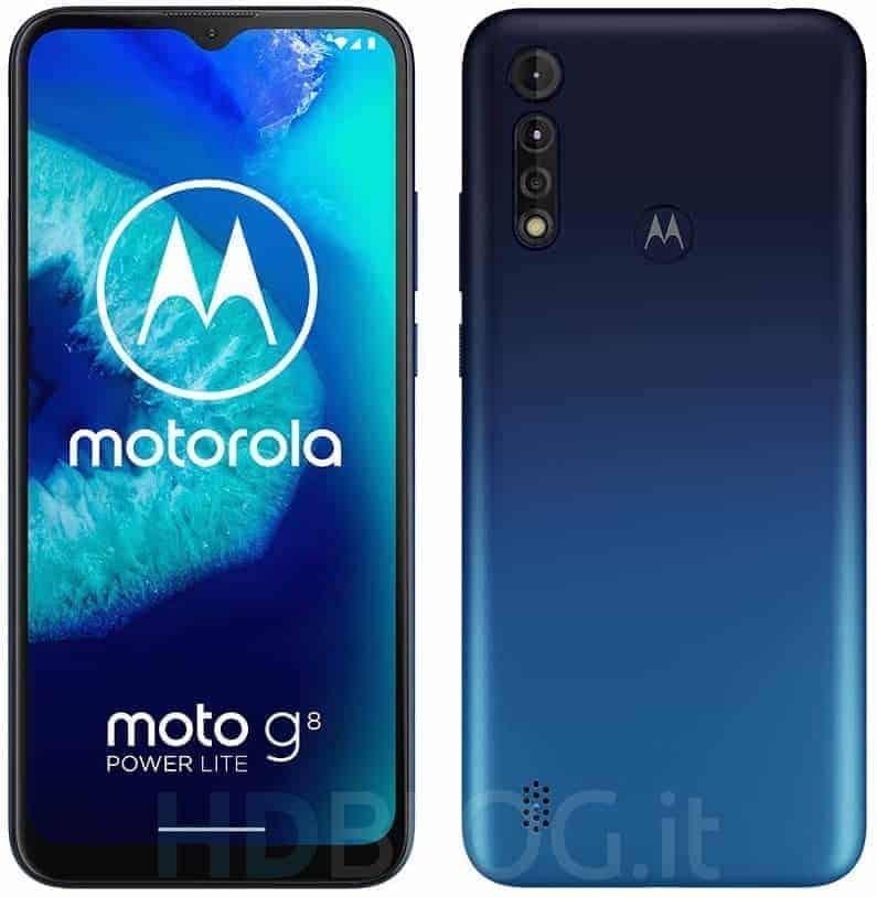 Motorola Moto G8 Power Lite render leak 5