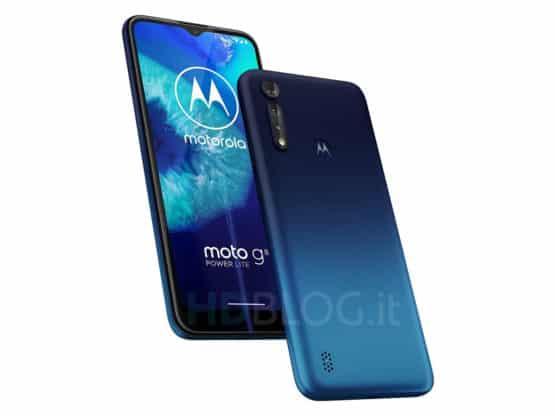 Motorola Moto G8 Power Lite render leak featured