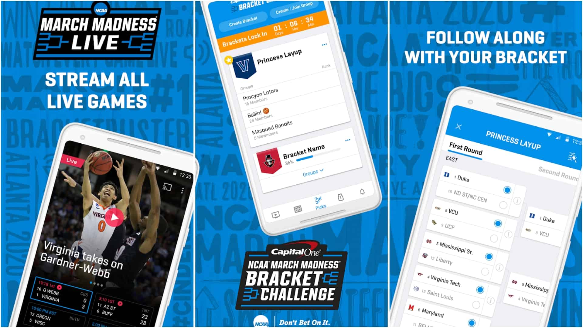 NCAA March Madness Live app image March 2020