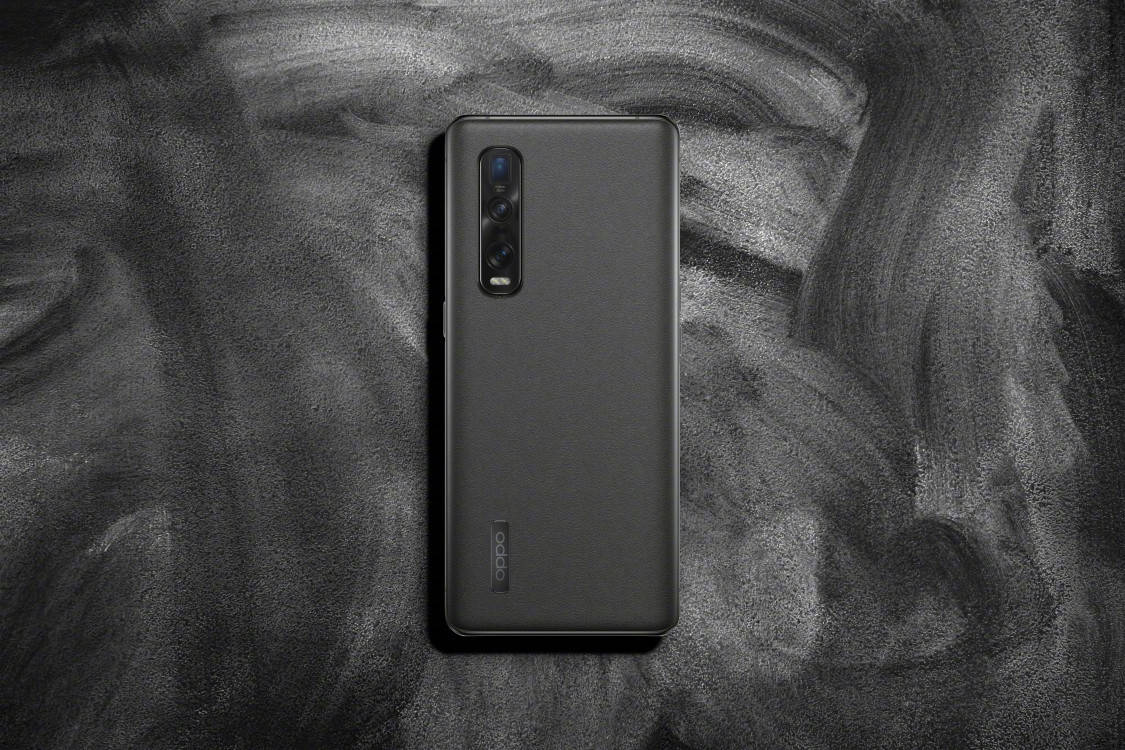 OPPO Find X2 Pro Vegan Leather Gray 1