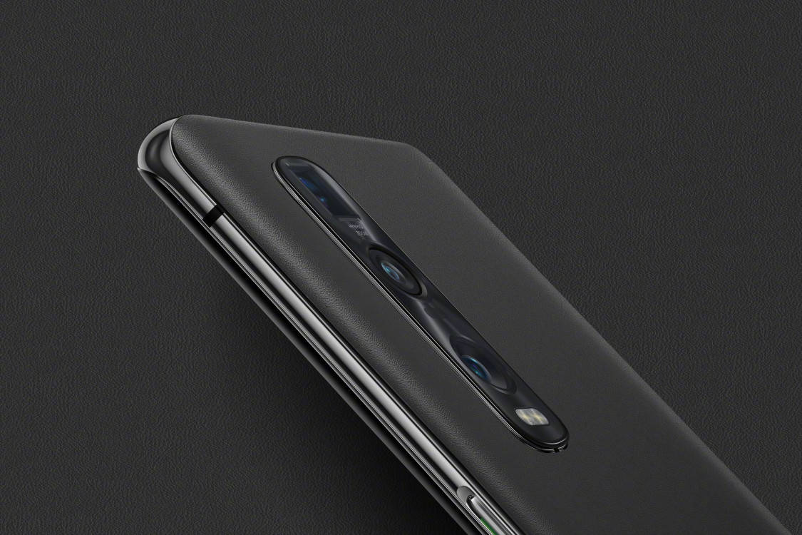 OPPO Find X2 Pro Vegan Leather Gray 4