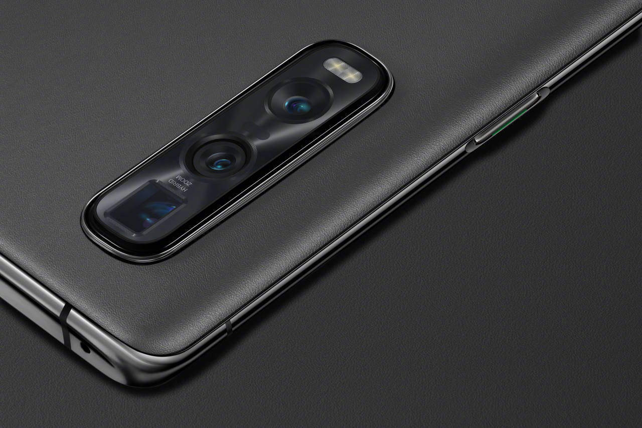 OPPO Find X2 Pro Vegan Leather Gray 5
