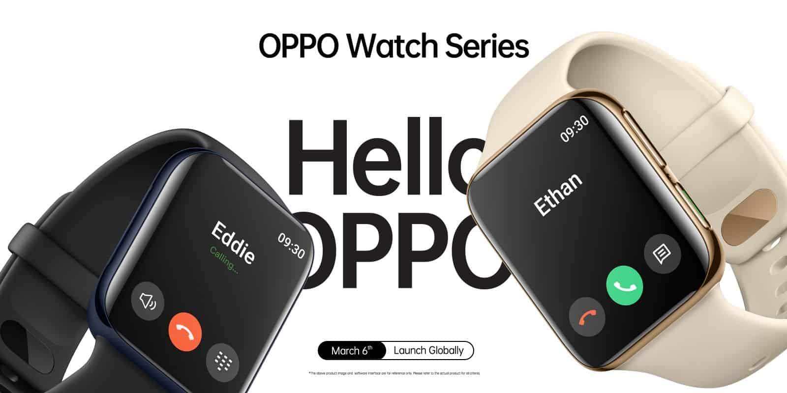 OPPO Watch launch date and design
