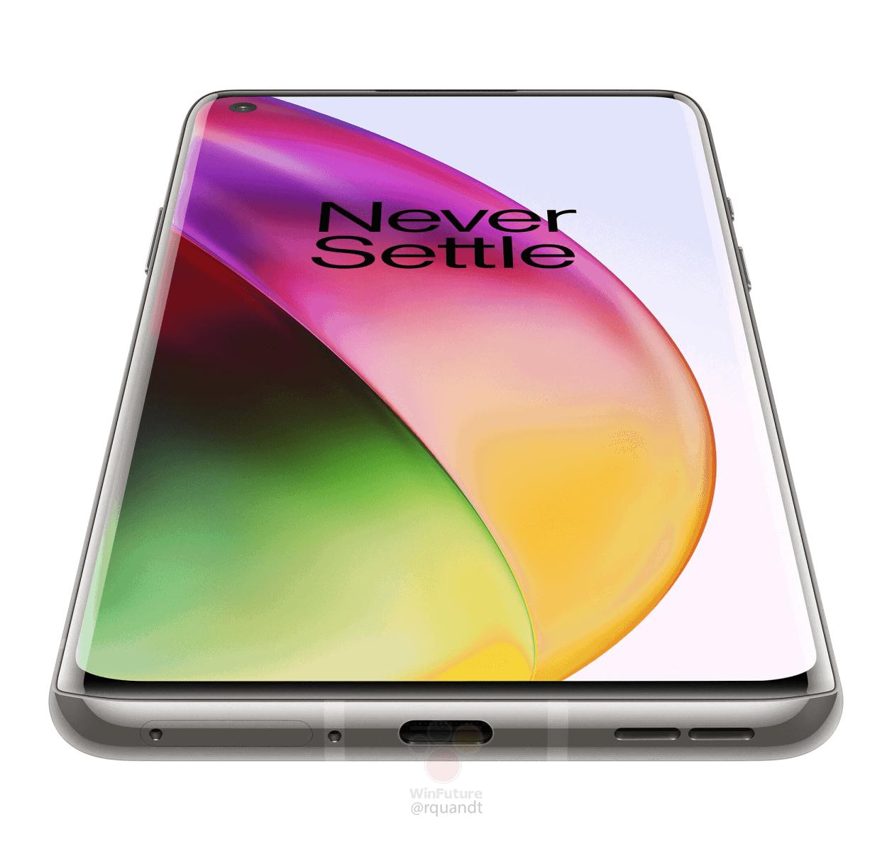 OnePlus 8 Interstellar Glow render leak 4