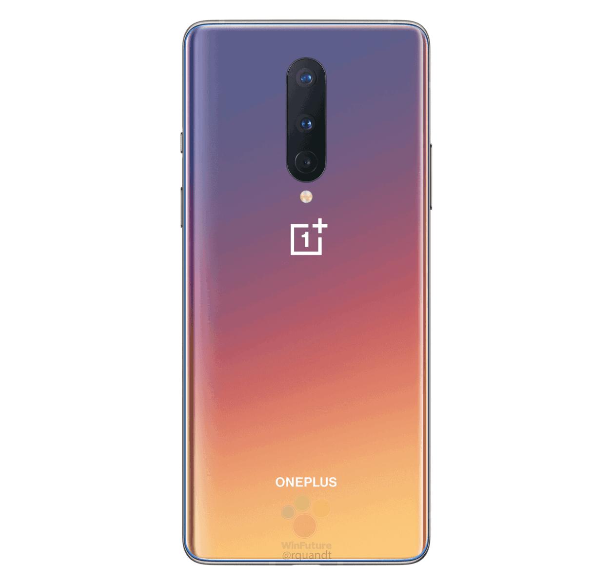 OnePlus 8 Interstellar Glow render leak 7