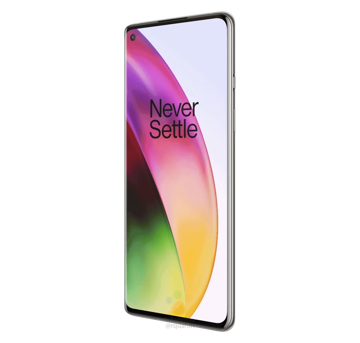 OnePlus 8 Interstellar Glow render leak 8