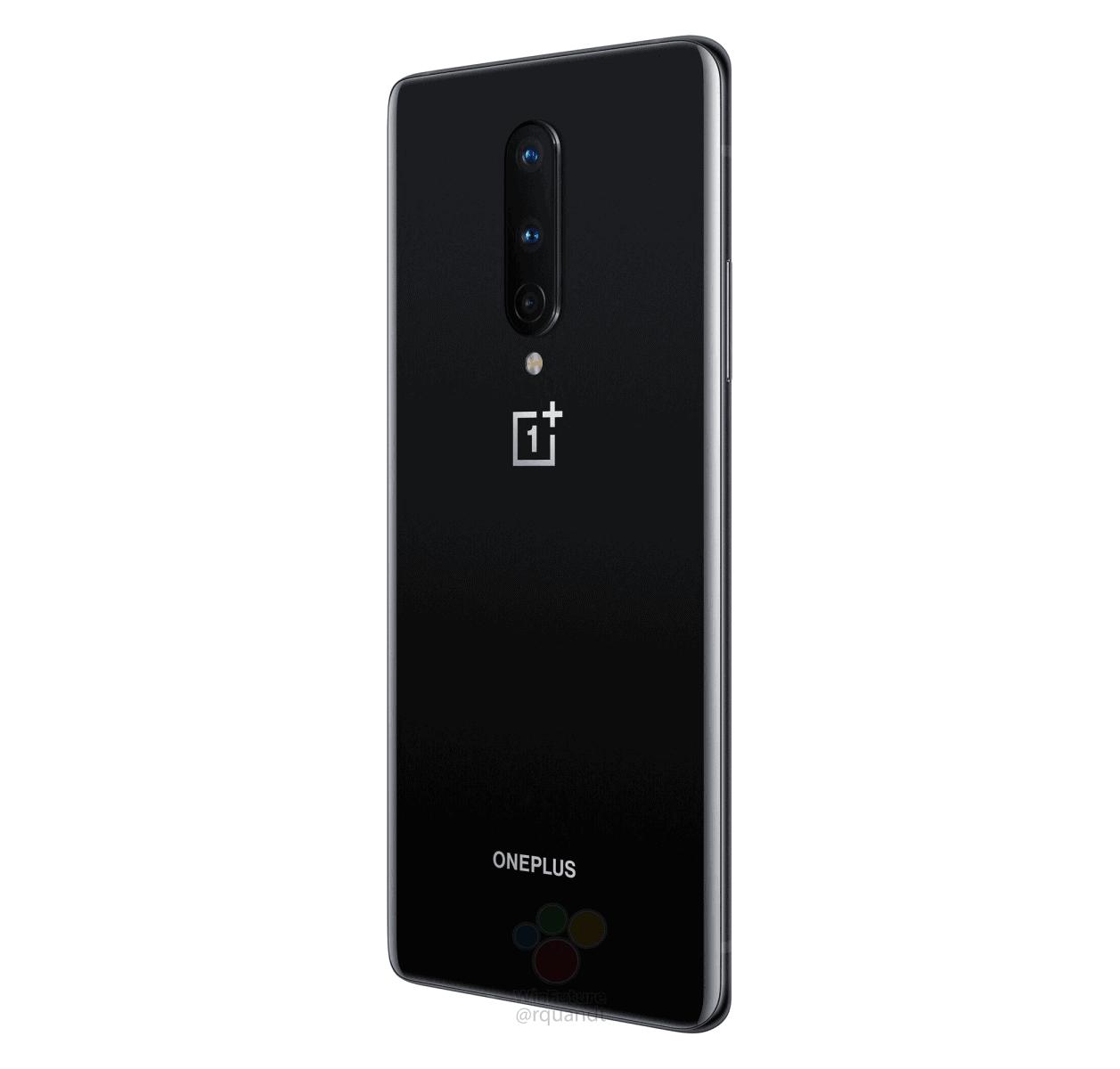 OnePlus 8 Onyx Black render leak 5