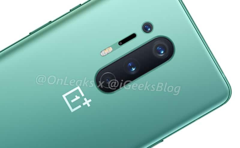 OnePlus 8 Pro green render leak 2