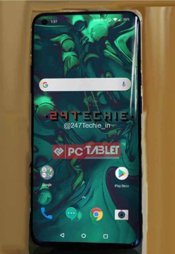 OnePlus 8 Pro real life image leak 2