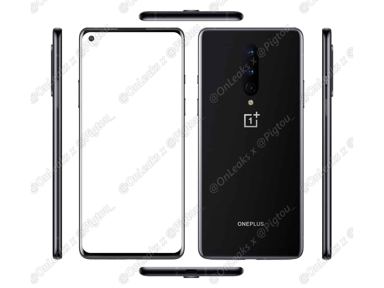 OnePlus 8 all angles leak featured