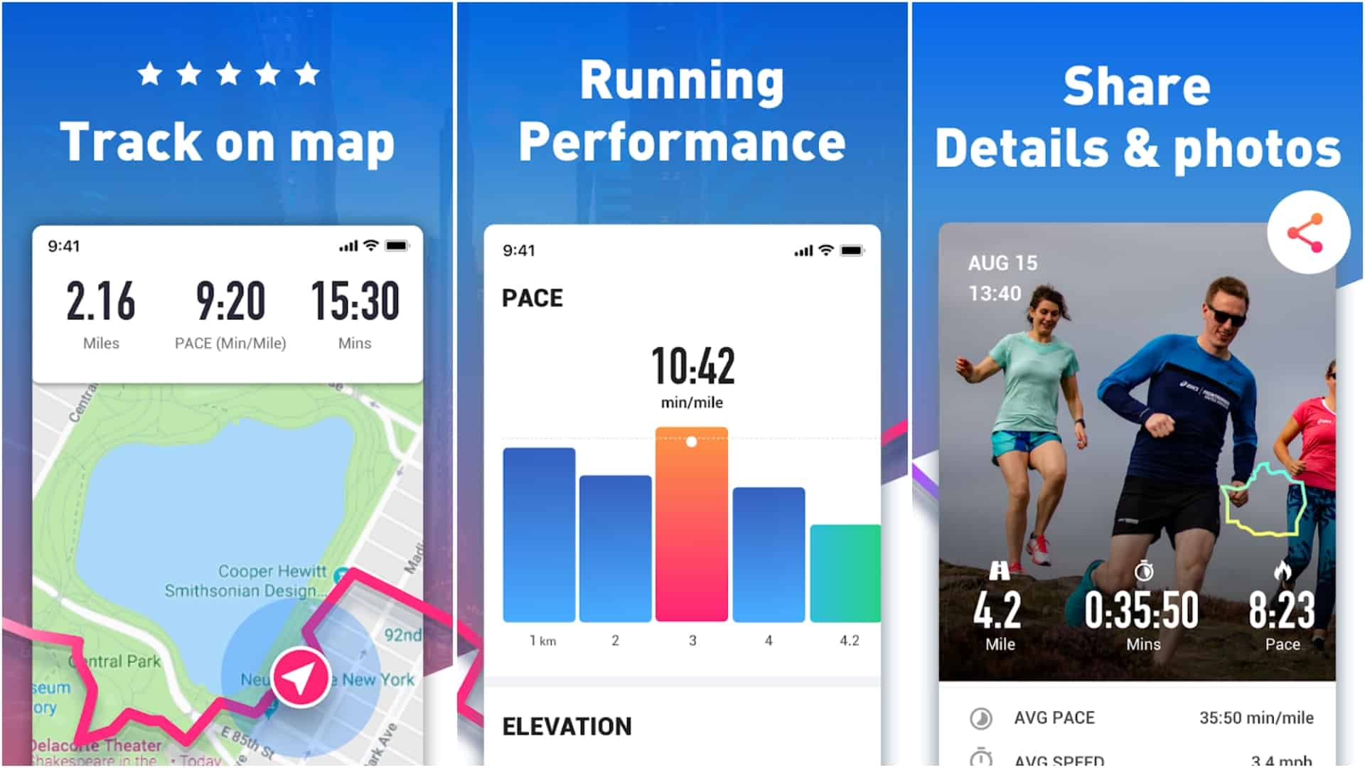 Running App app image March 2020