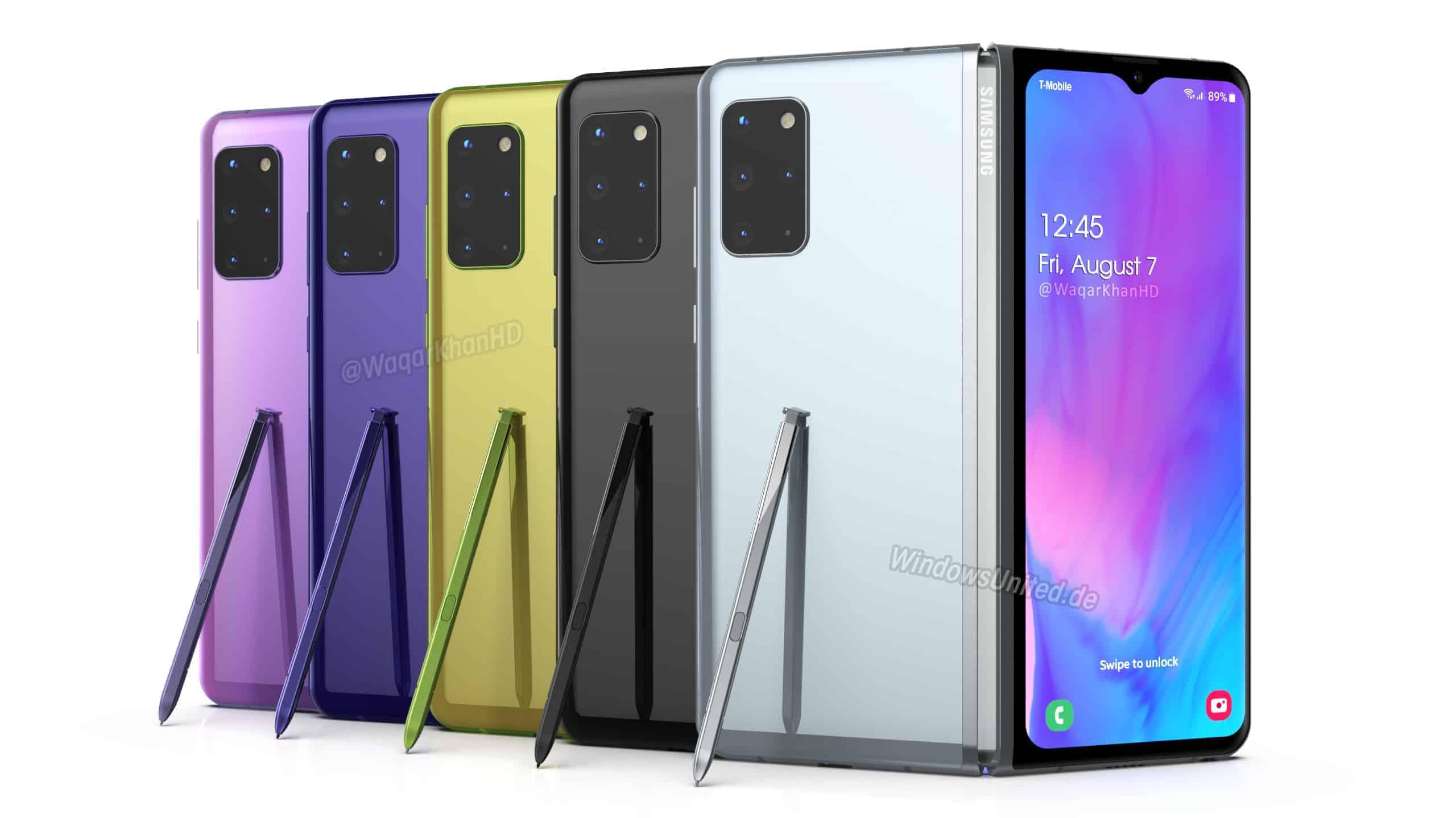 Samsung Galaxy Fold 2 concept Waqar Khan 1