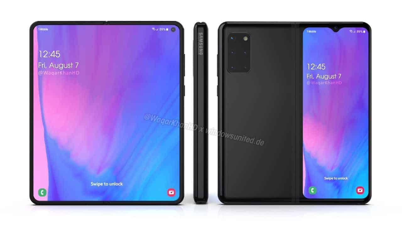 Samsung Galaxy Fold 2 concept Waqar Khan 2
