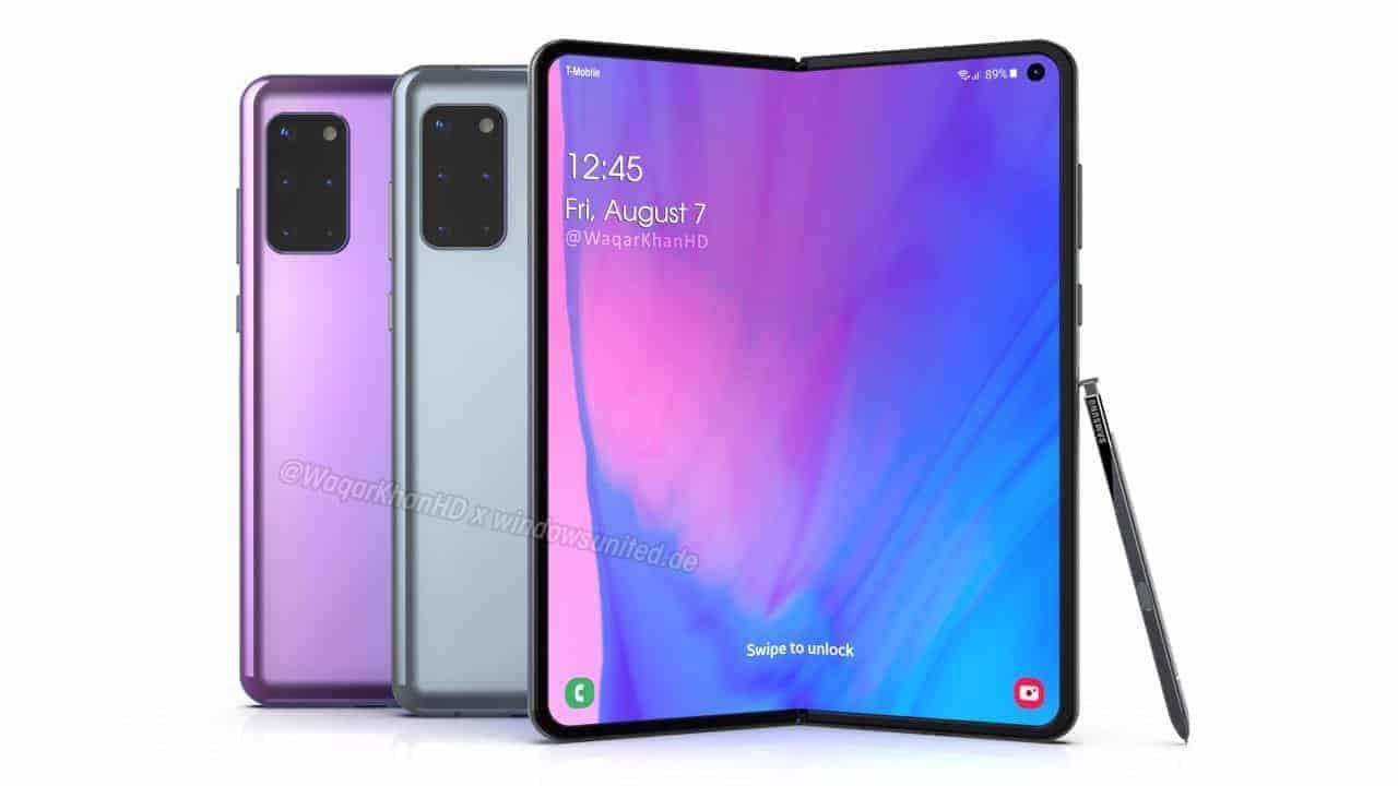 Samsung Galaxy Fold 2 concept Waqar Khan 6