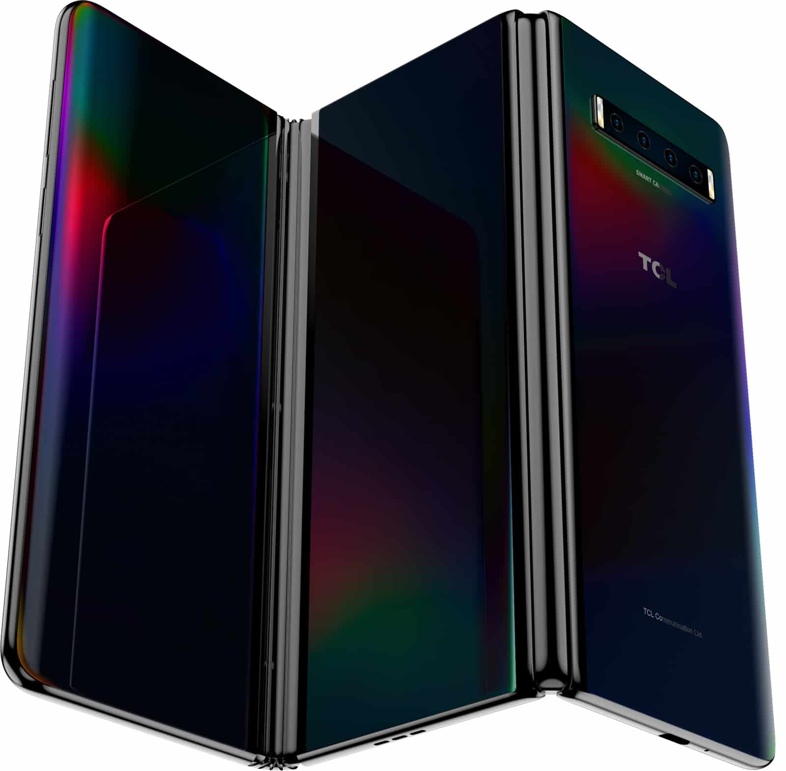 Tri fold display concept image 1
