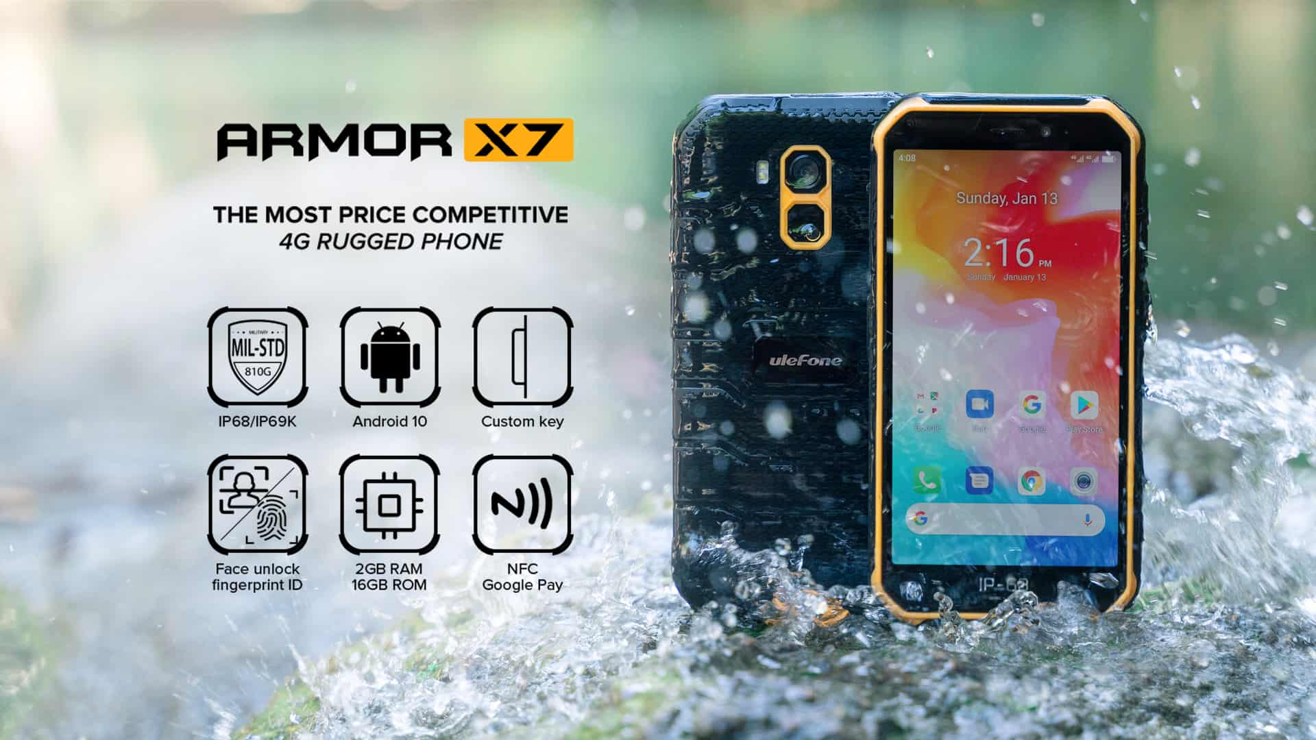 Ulefone Armor X7 promo 2