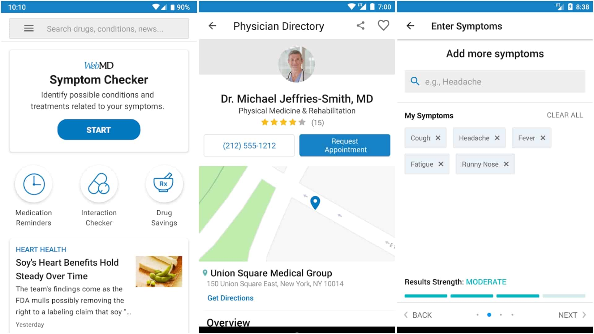 WebMD app image March 2020