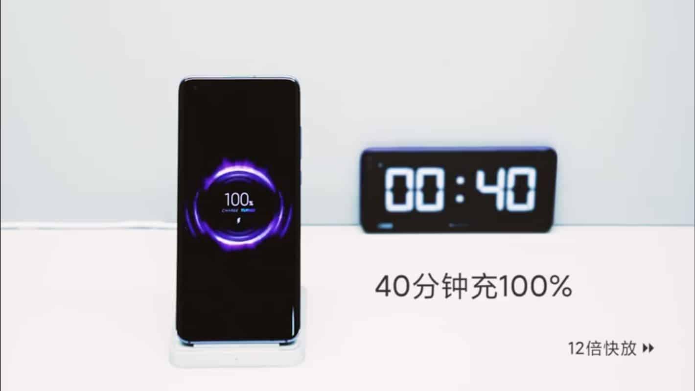 Xiaomi annonce une charge sans fil rapide de 40W pour surpasser la concurrence