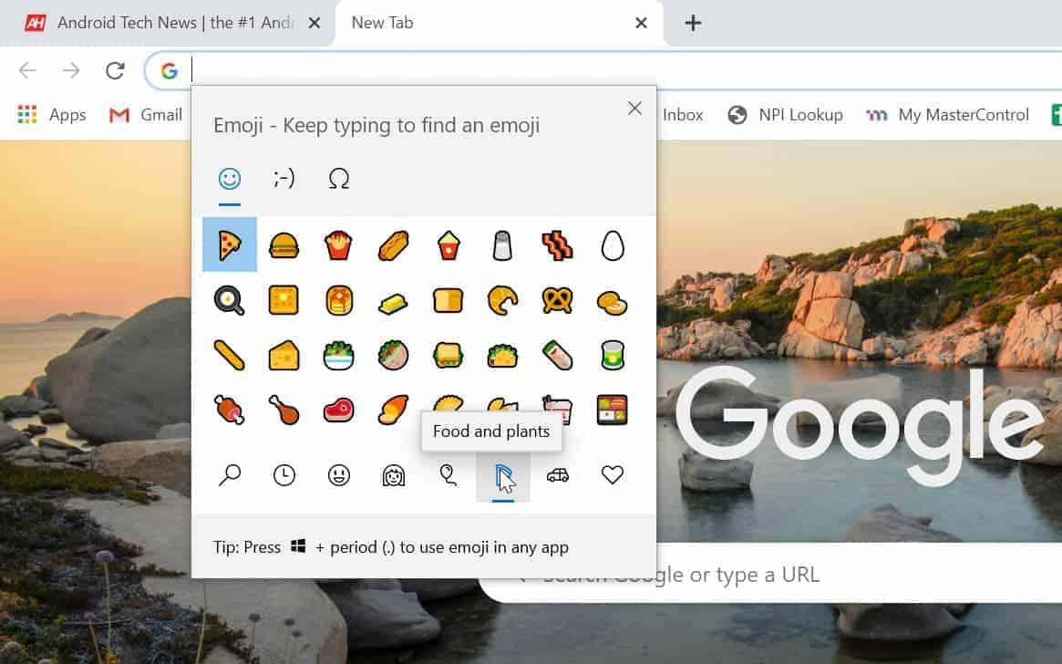 how to chrome emoji windows 04